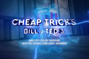 BILL AND TED FX w ACTION MOVIE DAD